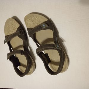 Columbia Mens Sandal Two Strap Open Size 7